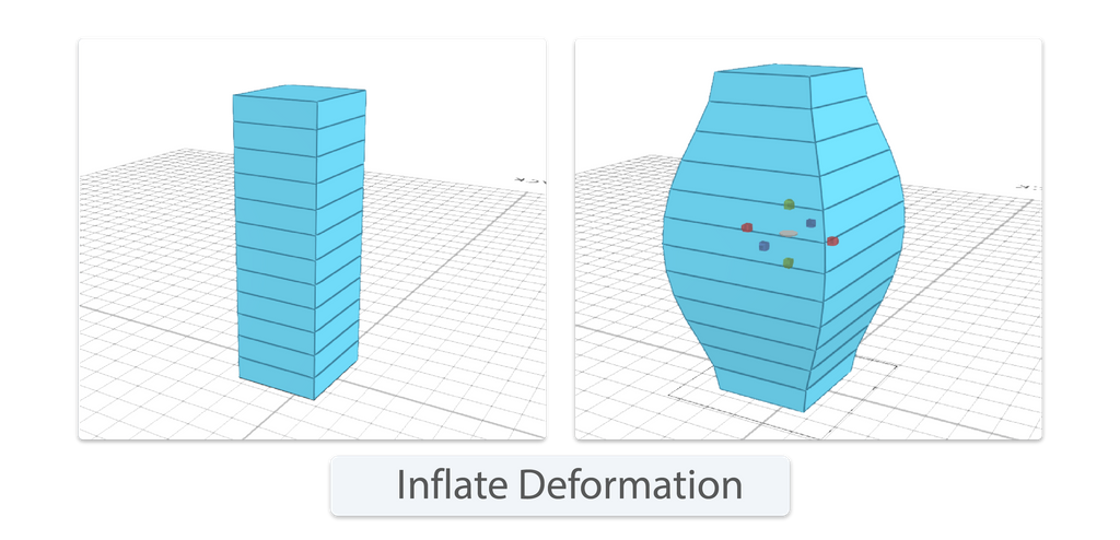Inflate deformation