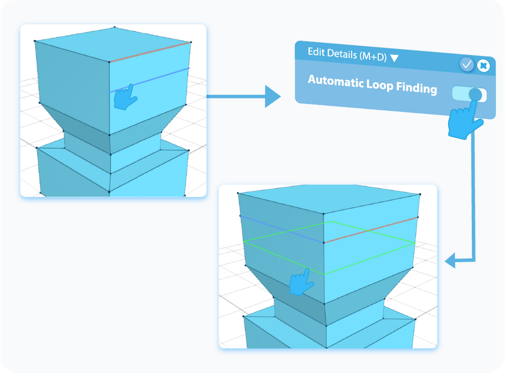 Edit Details Automatic Loop Finding