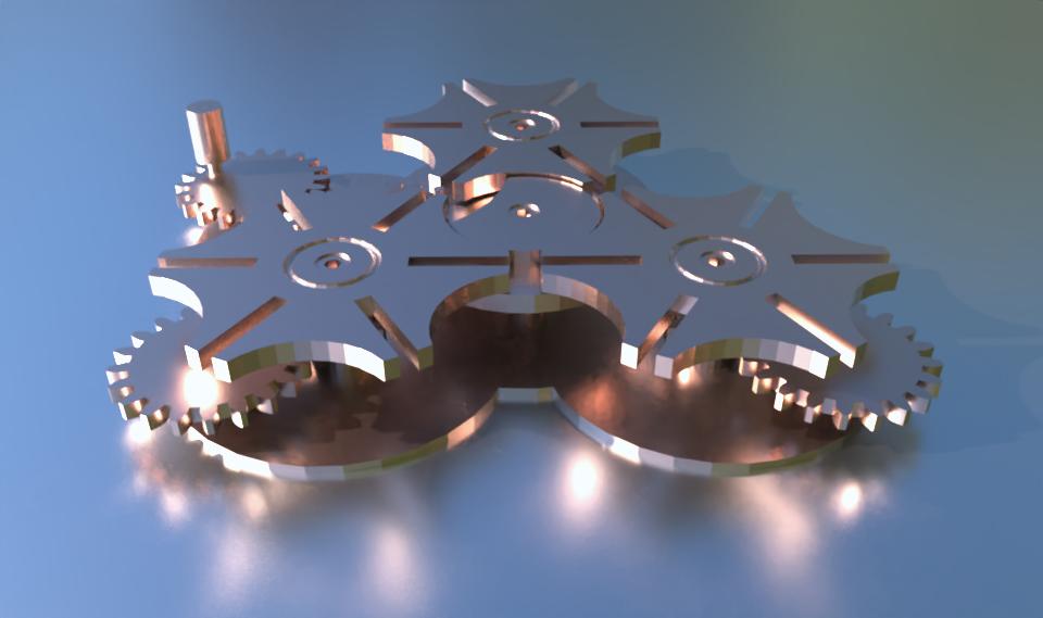 3d rendering in SelfCAD