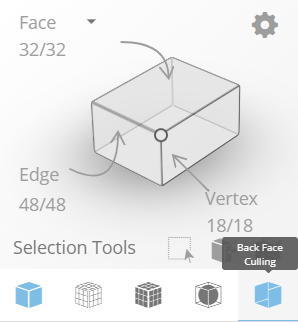You can check for flipped faces with the back face culling display mode available in SelfCAD