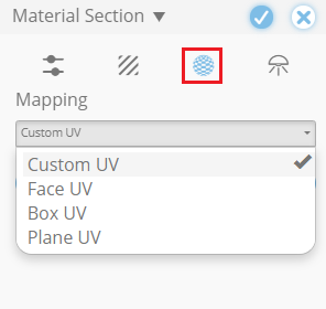 You can change the default Wrapping in the Mapping tab