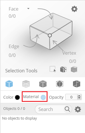 You can customize textures under the Material option in the display section of the right side panel in the editor